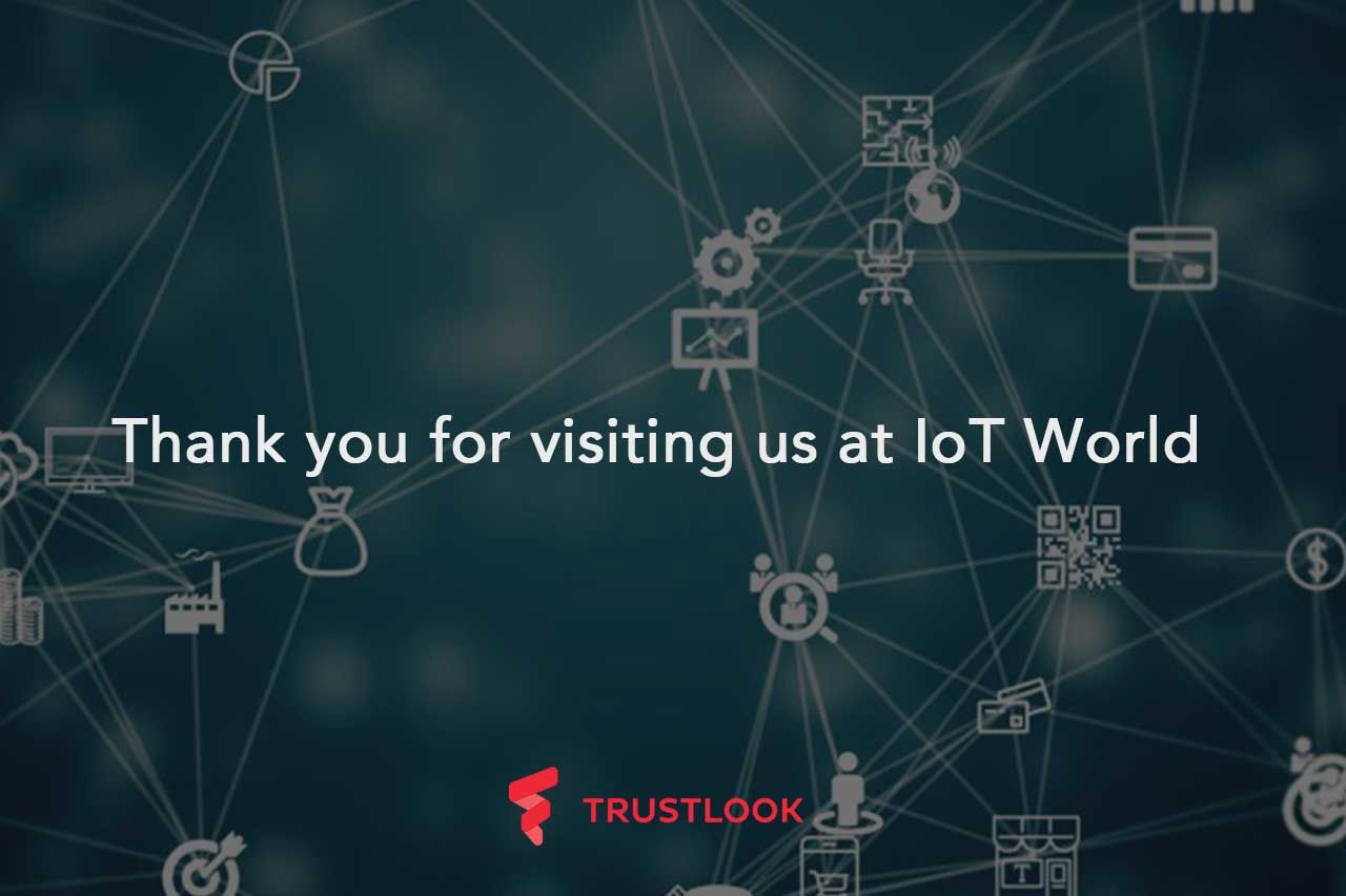 Thank you for visiting us at IoT World