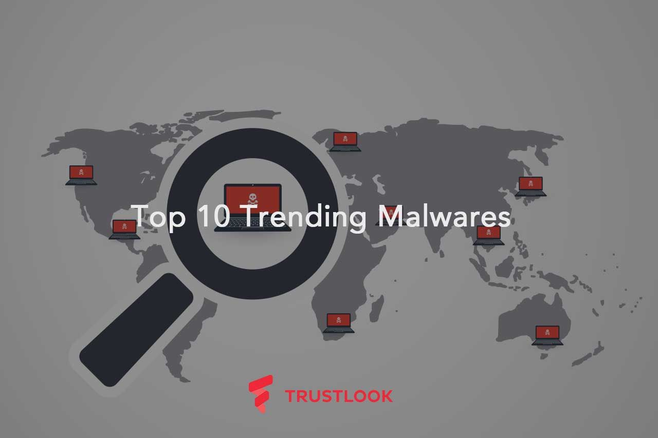 Top 10 Trending Malwares for October 7, 2016