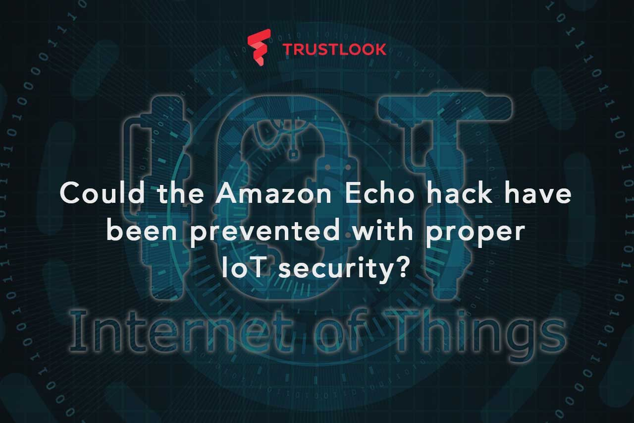 Could the Amazon Echo hack have been prevented with proper IoT security?